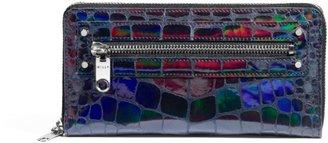 Milly Tatum Metallic Zip Around Wallet