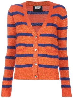 Markus Lupfer Striped lurex cardigan