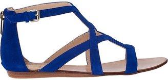 Dolce Vita Ida Gladiator Sandal Blue Suede