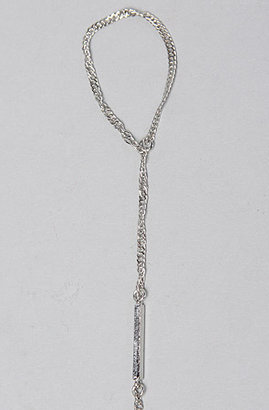 *Accessories Boutique The Emily Hand Chain in Silver