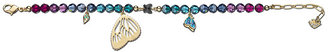 Swarovski Noisette Butterfly Blue Bracelet