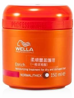 Wella Enrich Moisturizing Treatment for Dry & Damaged Hair (Normal/Thick) 150ml/5oz