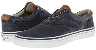 Sperry Striper CVO Salt-Washed Twill (Navy) Men's Lace up casual Shoes