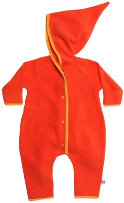 Zutano Cozie Elf Hooded Romper - Cream-12 Months