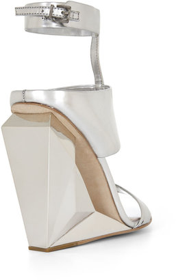 BCBGMAXAZRIA Noella Cutout Wedge Day Sandal