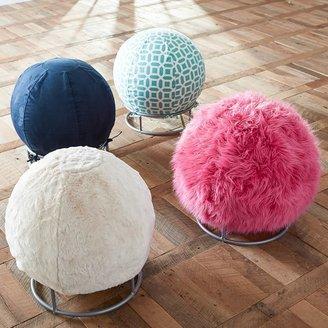 STUDY Fur Rockin' Roller Desk Chairs