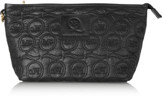 McQ Quilted shell and leather case