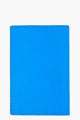 Comme des Garcons WALLETS Neon Blue Super Cardholder