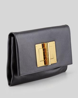 Tom Ford Soft Natalia Leather Clutch Bag