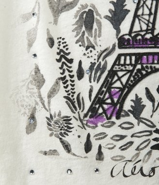 Aeropostale Eiffel Tower Graphic T