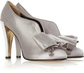 Christian Lacroix Large bow shoe boots