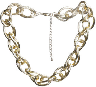 Wet Seal Double Chain Short Necklace