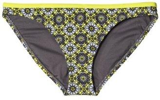 Converse One Star® Women's Green Print High Scoop Bottom