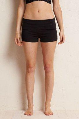 aerie True Black Yoga Shorts