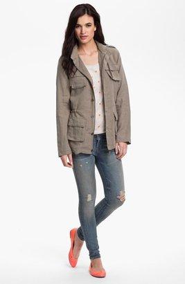 Olivia Moon Hooded Cargo Jacket