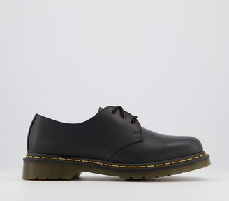 Dr. Martens 3 Eye Lace Shoes Black Leather