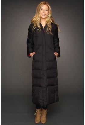 Tommy Hilfiger Cataloochee Maxi Down Coat (Black) - Apparel