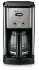Cuisinart 12-c. Brew Central Programmable Coffee Maker, Black Chrome