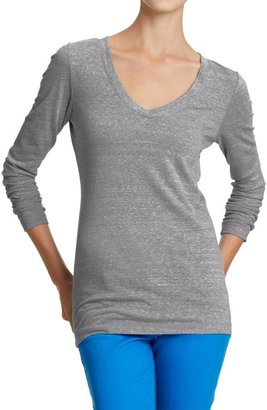 Old Navy Vintage-Style V-Neck Tee