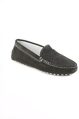 Tod's Boy's Suede Gommini Mocassins