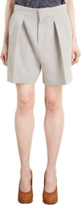 Chloé Pleated Front Shorts