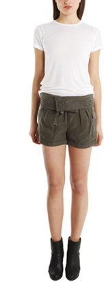 IRO Yann Shorts in Army