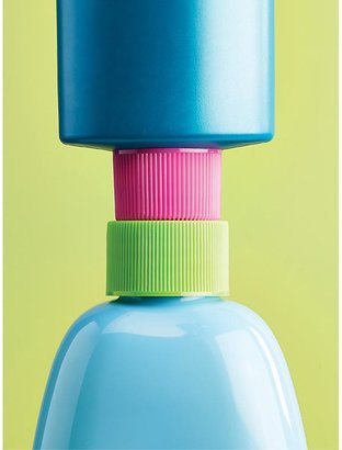 Container Store Lotion Saver Bottle Couplers Pink/Green Pkg/3