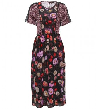 Mulberry FLORAL PRINT SILK DRESS