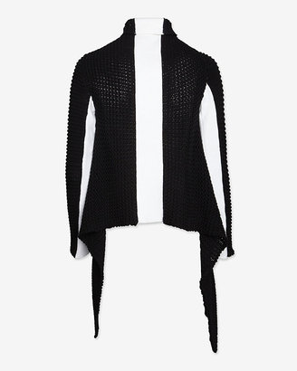 Intermix Juliette Jake Exclusive Two-Tone Throw Sweater