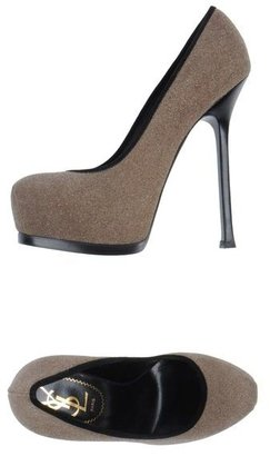 Yves Saint Laurent RIVE GAUCHE Platform pumps