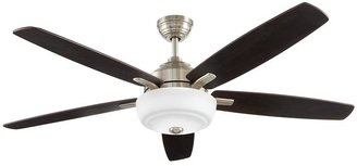 Home Decorators Collection 60 in. Sudler Ridge LED Brushed Nickel Ceiling fan