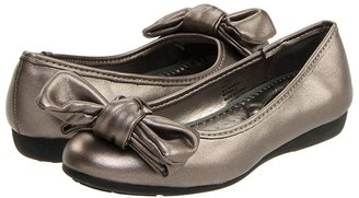 Me Too Livie (Toddler/Youth) (Pewter) - Footwear