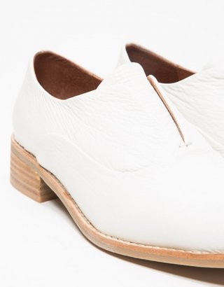 Jeffrey Campbell Niven In White Leather