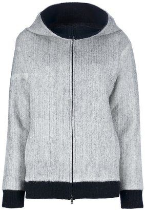 Maison Martin Margiela Wide funnel neck coat