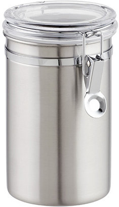 Container Store 36 oz. Canister Brushed Stainless