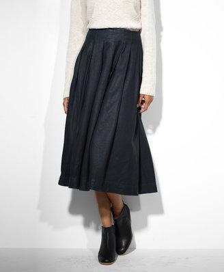 Levi's Pleated Circle Skirt