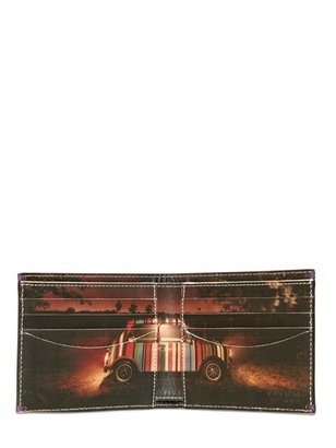 Paul Smith Mini Printed Classic Leather Wallet
