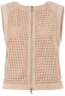 Drome Woven leather top
