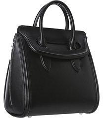 Alexander McQueen Heroine Medium Satchel Handbags