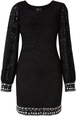 AX Paris Women's Embellished lace dress