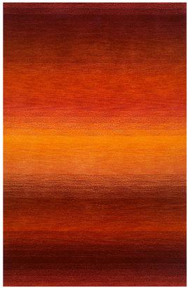 """Liora Manné Area Rug, Ombre 9620/18 Stripe Sunrise 4' 1"""" x 6' 5"""""""