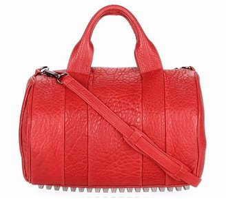 Alexander Wang Rocco In Cayenne Pebble Lamb With Black Nickel