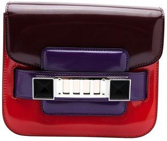 Proenza Schouler 'PS11' colour block pouchette