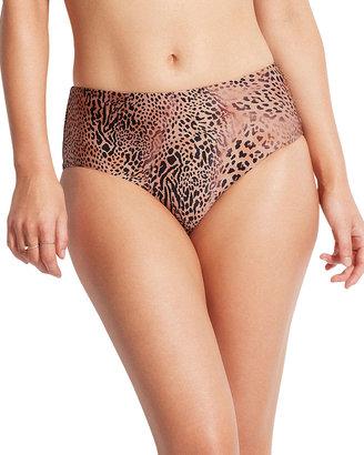 Seafolly Animal Print Wide Side Retro Bikini Bottoms