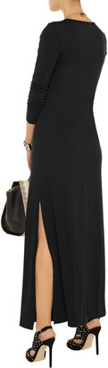 LnA Belmont jersey maxi dress