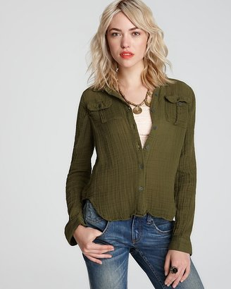 Free People Shirt - Tribe & True Button Down