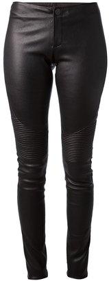 Lapis Italia leather trouser