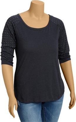 Old Navy Women's Plus Embellished Sleeve Tees