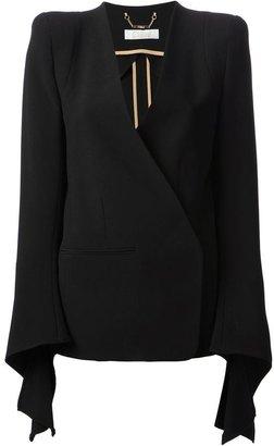 Chloé wrap front blazer