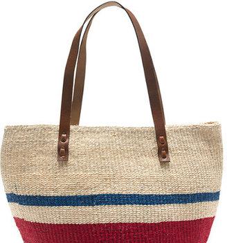 J.Crew Bamboula Ltd. beach bag
